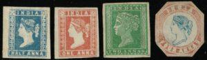 India 1854 mint